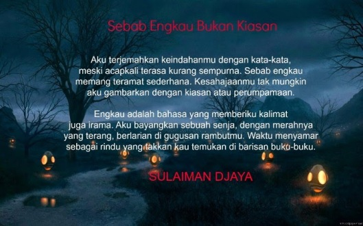 Puisi Sulaiman Djaya