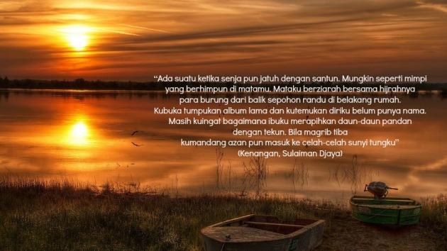 Puisi Kenangan Karya Sulaiman Djaya