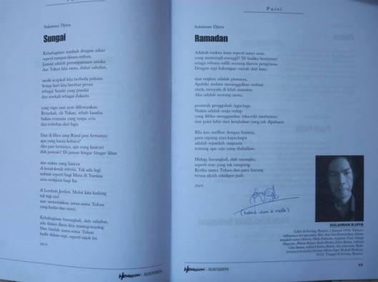 Majalah Sastra Horison Edisi Oktober 2014 Fotografer Bahrul Ulum A Malik